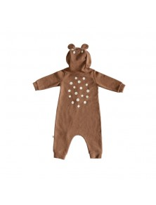 Lala Brown Bambi Jumpsuit