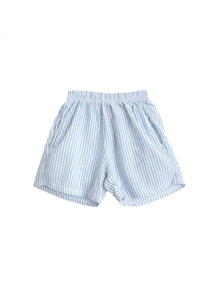 classic shoes hottest sale 2018 shoes seersucker boys shorts kids fashion children store french style