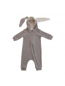 Lala Grey Bunny Jumpsuit