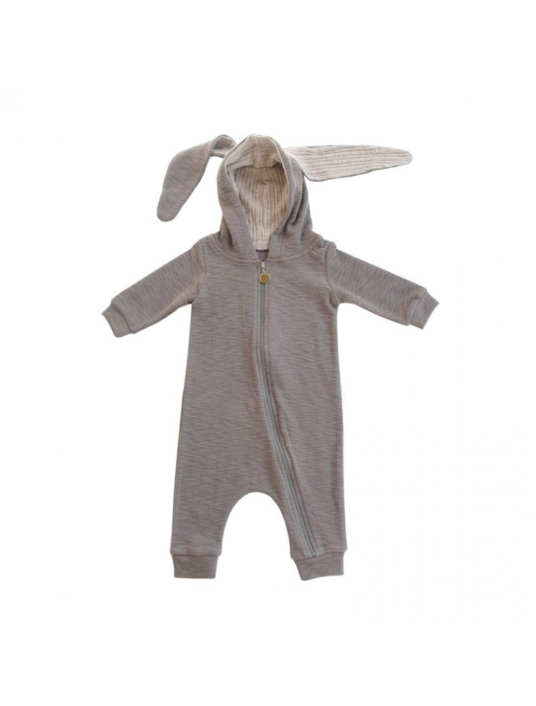 1915df41a8a lala grey rabbit bunny jumpsuit baby romper baby fashion kids store ...