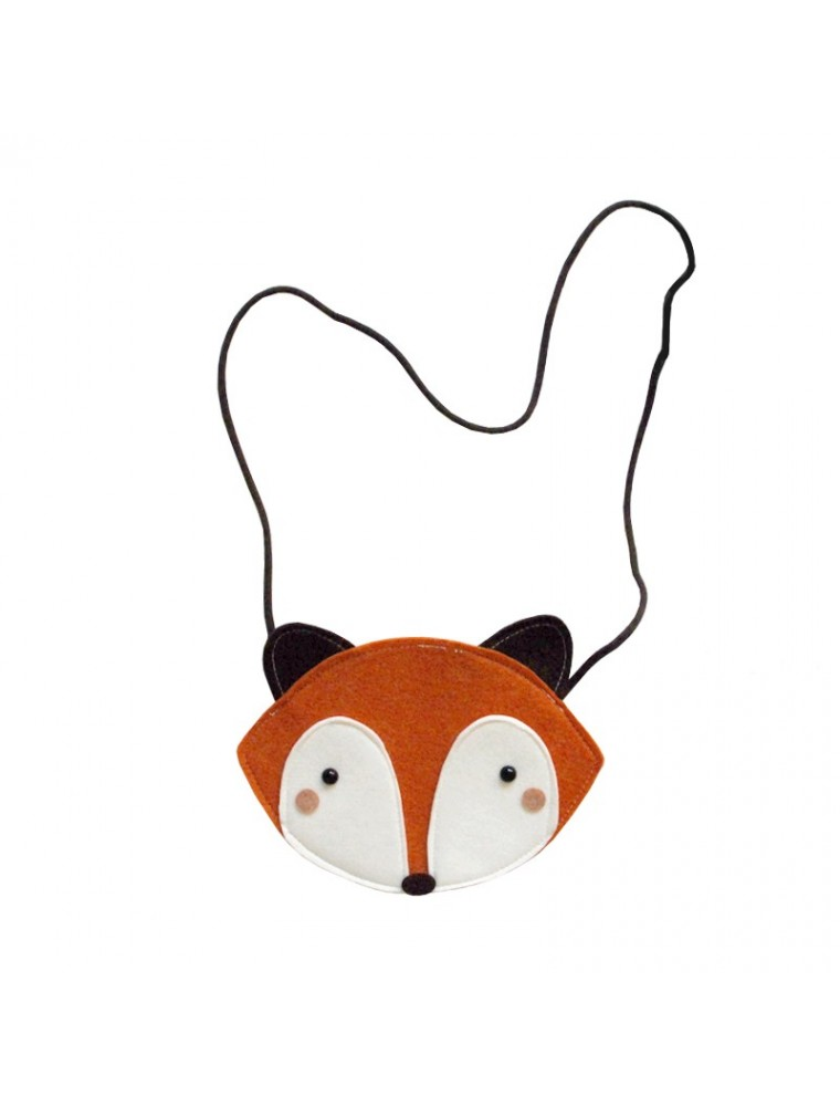 Mini Dressing Orange Raccoon Bag